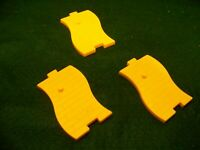 2013 McDONALD'S 75th ANNIVERSARY WIZARD OF OZ YELLOW BRICK ROAD PIECES (3)