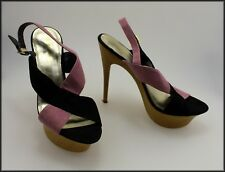 MARCO GIANNI WOMEN'S DESIGNER HIGH HEEL PLATFORM SHOES SIZE 9.5 AUS MARKED 41 EU