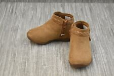 **Stride Rite 360 Finely Faux Suede Booties, Toddler Girl's Size 7M, Tan
