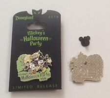 Mickey's Halloween Party 2016 Mickey & Minnie Limited Release Pin Disneyland