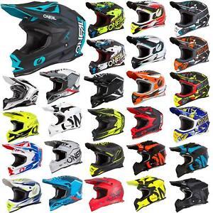 O'Neal Motocross Helm MX Motorrad Enduro Bike Offroad Cross SRS Adventure