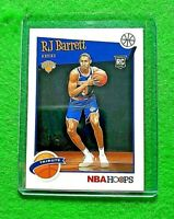 RJ BARRETT NBA HOOPS TRIBUTE ROOKIE NEW YORK KNICKS 2019-20 HOOPS BASKETBALL RC