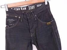 R523 G-STAR JEANS JACK PANT EAST EMBRO 3301 RAW ORIGINAL PREMIUM size W26 L30