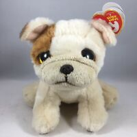 "New 2020 TY Beanie Baby 6"" HOUGHIE the Pug Dog Stuffed Animal Toy Plush MWMTs"
