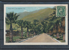 555809 / USA POSTKARTE LOS ANGELES PALM DRIVE