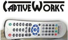ORIGINAL CAPTIVEWORKS 600S REMOTE CONTROL CAPTIVE WORKS 600 PREMIUM FTA RECEIVER
