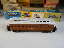 AHM HO Scale ATSF Old Time Passenger Coach Car, KADEE COUPLERS