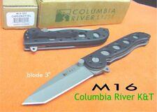 Couteau CRKT M16 Linerlock Kit Carson Lame Acier AUS-8 Manche Zytel CR02Z