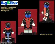 NIGHTCRAWLER XMen Marvel Custom Printed LEGO Minifigure NO DECALS USED!