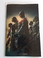 Justice League of America #10 Foil Variant Movie Cast Cover Sdcc 2017 Exclusive