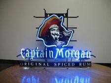 "New Captain Morgan original spiced Rum Beer Neon Light Sign 17""x14"""