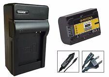Patona-Akku + Ladegerät für Sony HDR-CX360VE, HDR-CX410VE, HDR-CX505VE - NP-FV50