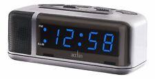 Acctim Excelsior Blue LED Mains Electric Bold Bedside Alarm Clock (OUR REF2ROBP)