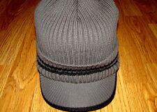 Charcoal/Black  Kangol  Ribbed Peak Pull-On Cap Style  K3012SP