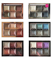Technic Colour Max Baked  Eyeshadow Palette Bronze Cappuccino Silverado Rolling