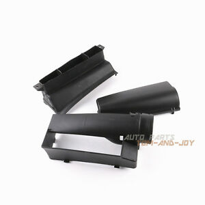 3Pcs Air Intake Guide Inlet Duct Assembly For Audi A3 Jetta GLI GTI MK5 EOS