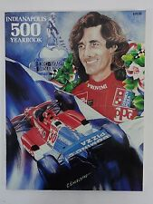 1990 Indianapolis 500 Yearbook Hungness Arie Luyendyk