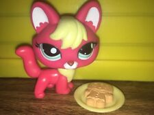 🌺Littlest Pet Shop #2642 Blue Eyes Red Fox! AUTHENTIC! W/ Gingerbread 🌺