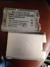 Batteria al Litio LG KU950   Kg950 Silver Alta Qualità NUOVA 900ma