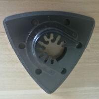 93mm Flush Triangular Sanding Pad Oscillating Saw Blade for Fein, Bosch, Hardin