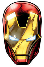 Iron ManMarvel The Avengers Simple Amusant carte fête Masque Visage Stark