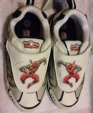 Power Rangers NINJA STORM Shoes Boy's 12 1/2 NEW Sneakers Red Ranger 12.5 NIB