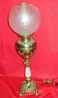 Electrified Antique The B&H Bradley & Hubbard Banquet Lamp - Onyx Middle