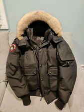 Triple FAT Goose Mens Grinnell Bomber Jacket L pre-owned like Canada Goose