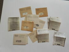 20 WWII V-Mail Letters Military Servicemen World War Two Collection VTG Lot WW2