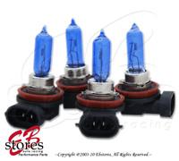 12V 65w H9 Super White 5000K Xenon Gas HID High Beam Light Bulb 4pcs (2pair)