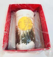Starbucks Seattle Gas Works Park Ceramic Traveler Coffee Mug Tumbler 12 fl oz