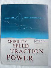 Letourneau-Westinghouse Model C tournatractor-us-folleto brochure 1955 (0186