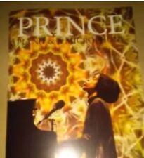 Prince Piano & Microphone final tour program
