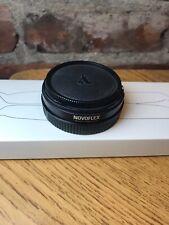 Novoflex NEX/LEM adapter for Leica M lens to Sony E-Mount body.