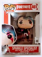 Funko Pop Games Fortnite Sparkle Specialist #461 Vinyl Figure New In Box NIB