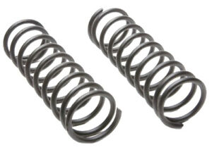 2 Coil Springs MOOG Constant Rate Rear Replace For FORD Focus 2000-04