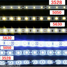 5M SMD 5050/3528/5630 300/600LEDs Cool & Warm White Waterproof LED Strip Lights