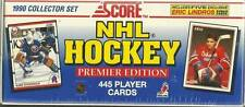 1990 Complete Collector Set. Score NHL Hockey Premier Edition. 445 Player Cards.