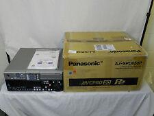 Panasonic AJ-SPD850P DVC PRO50 Memory Card Recorder