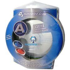 "CD315 AUDIOBAHN 15"" LED ILLUMINATED SUBWOOFER SPEAKER PROTECTIVE GRILL COVER NEW"