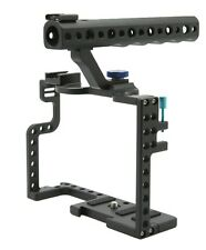 DSLR Camera Cage With Top Handle Grip For Panasonic Lumix GH5 Camera Rig