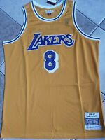 NWT Men's Los Angeles Lakers Kobe Bryant Authentic Mitchell & Ness Throwback 2XL