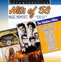 Magic Moments - Hits Of 1958: 32 Original Hits by the Original Artists [CD]