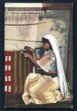 AK - LEHNERT & LANDROCK - Nr. 676  Femme arabe fabriquant un Tapis - Maghreb