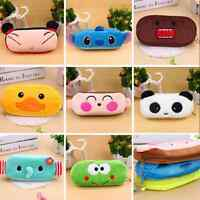 New Pen Pencil Pocket Case Organizer Cosmetic Pouch Brush Holder Makeup Box Bag