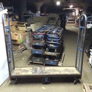 U Boat Stock CARTS Used Store Warehouse Backroom Store Cart Material Handling