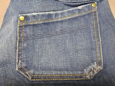 DIESEL KEATE 772 WOMENS SLIM STRAIGHT LEG DISTRESSED JEANS SIZE 28x33 NEW RARE