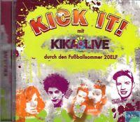 KICK IT + CD + Durch den Fußball Sommer 20ELF + 22 tolle Songs für die Party +
