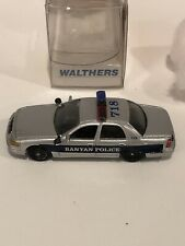 Walthers Police Car Banyan Police 1:87 Ho Scale 1998 Crown Victoria