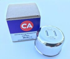 55 56 57 Chevy V-8 Oil Breather Cap Polished Stainless Steel 1955-1964 Chevrolet
